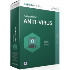 Kaspersky Anti-Virus Russian Edition. 2 лиц., 1 год