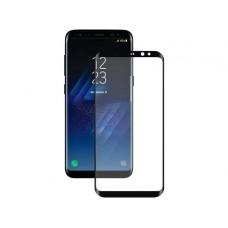 Защитное стекло  3D чёрное, для Samsung  Galaxy S8 G950F